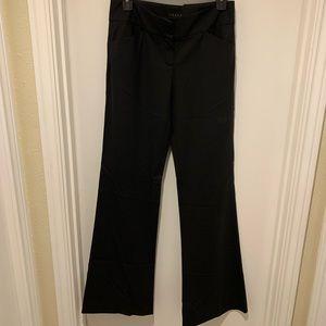 Theory Flare Black Pants Wide Leg
